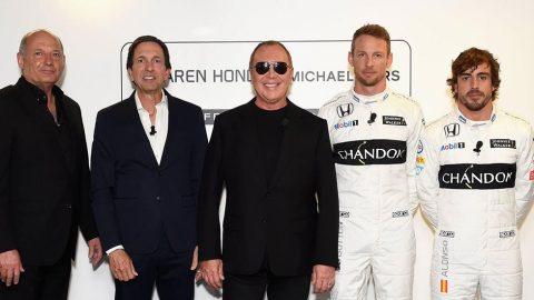 Michael Kors signs new partnership with McLaren-Honda