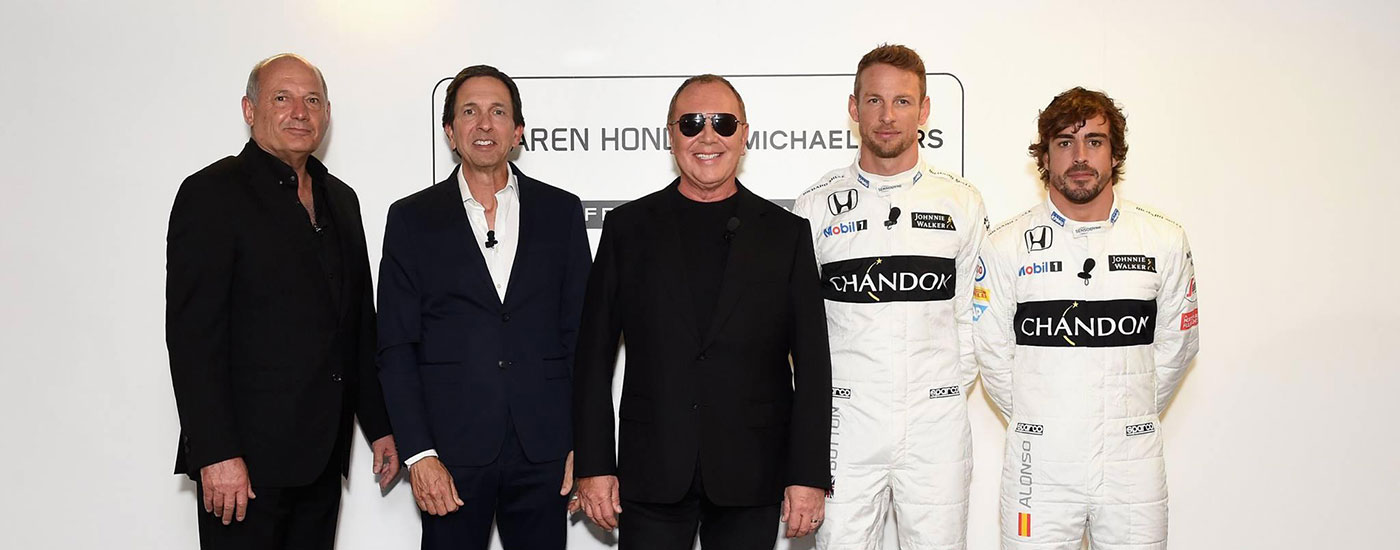 Michael Kors Announces New Lifestyle Partnership with McLaren-Honda