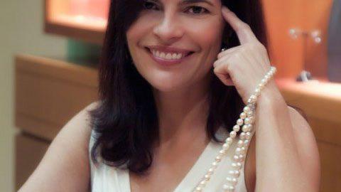 Alexandra Itouna. Owner of Itouna Gem Creations. Athens, Greece