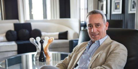 Paolo Macchiaroli. Founder and CEO of My Private Villas. London, UK
