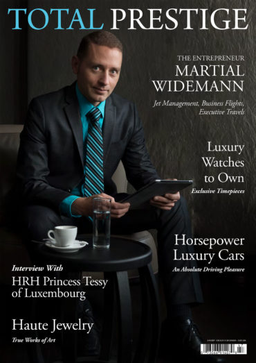 TOTALPRESTIGE MAGAZINE - On cover Martial  Widemann