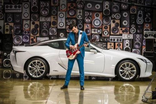 Mark Ronson Partners with Lexus to Launch the New LC