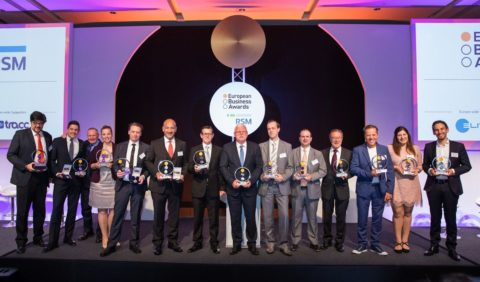 The Winners of the European Business Awards 2016/17