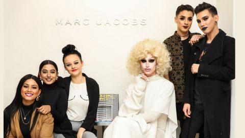 marc jacobs beauty announces the #castmemarc class of 2017