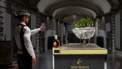 "Global Launch of the ""Rooted In Exception"" mixed reality experience by Rémy Martin"
