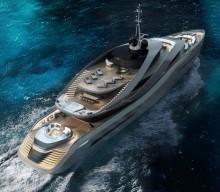 'Aurea' Revealed. A Rossinavi and Pininfarina Luxury Yacht Concept