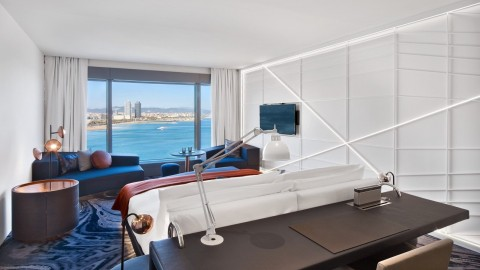 Iconic W Barcelona Completes Multi-Million Euro Room Renovation And Opens Europe's First W Sound Suite