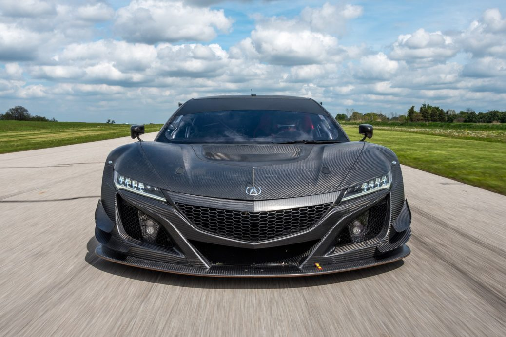 Race-winning Acura NSX GT3