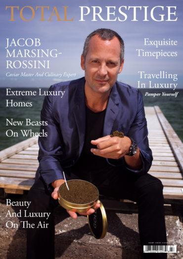 TOTALPRESTIGE MAGAZINE - On cover Jacob Marsin-Rossini
