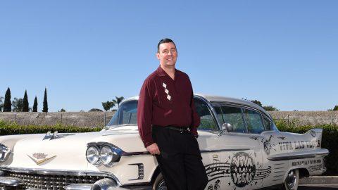 Tom Ingram. Founder and Producer of Viva Las Vegas. Las Vegas, USA