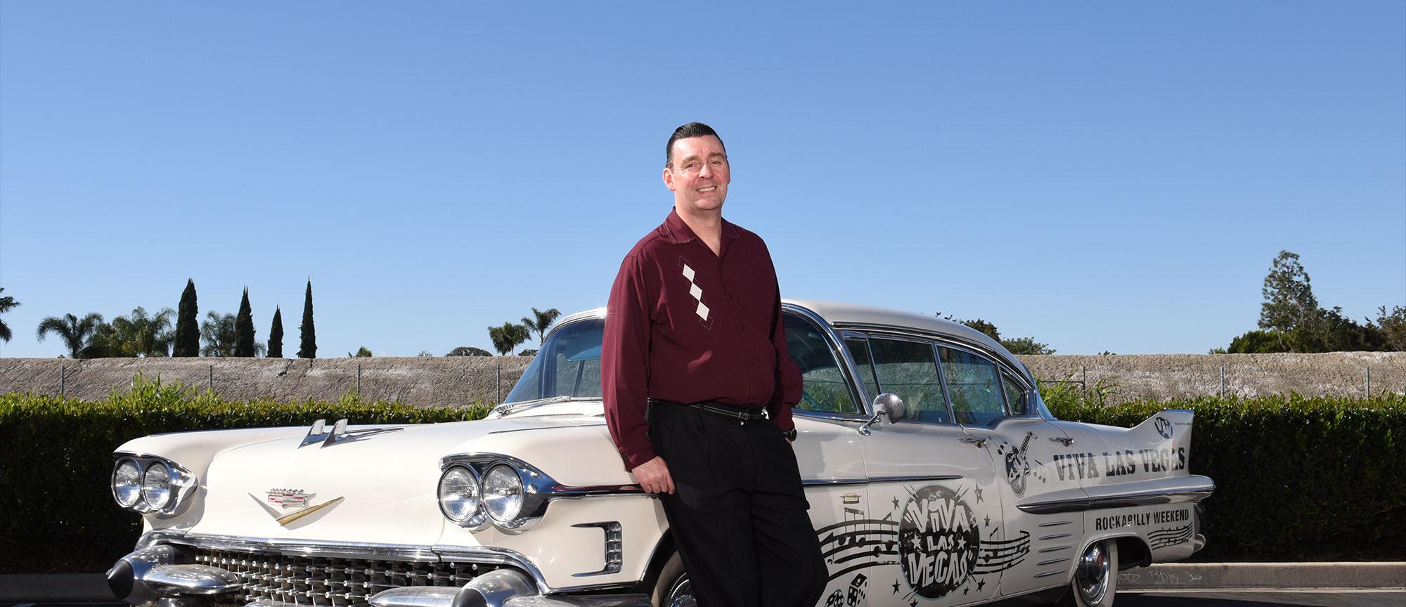 Tom Ingram, Founder and Producer of Viva Las Vegas