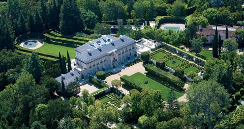 Iconic Bel Air Estate Introduced to the Market for the First Time in 30 Years for $350 Million