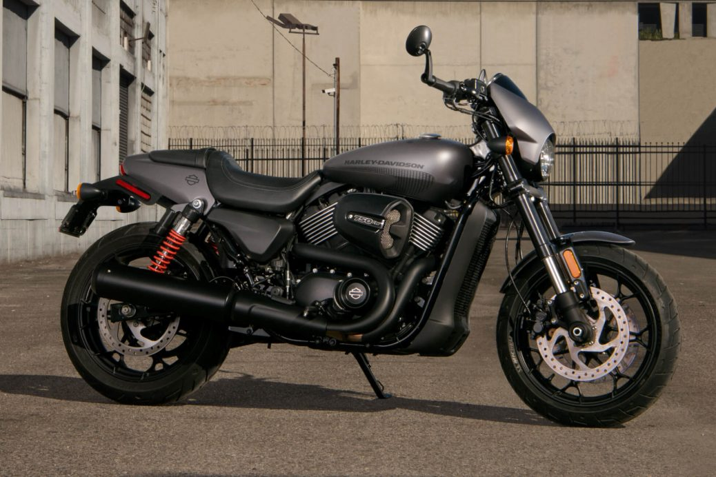 The Harley Davidson Street Rod 2017 750cc of Adrenaline