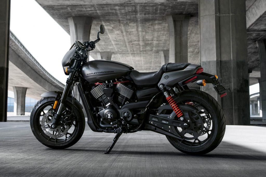 The Harley Davidson Street Rod 2017 750cc of Adrenaline-1