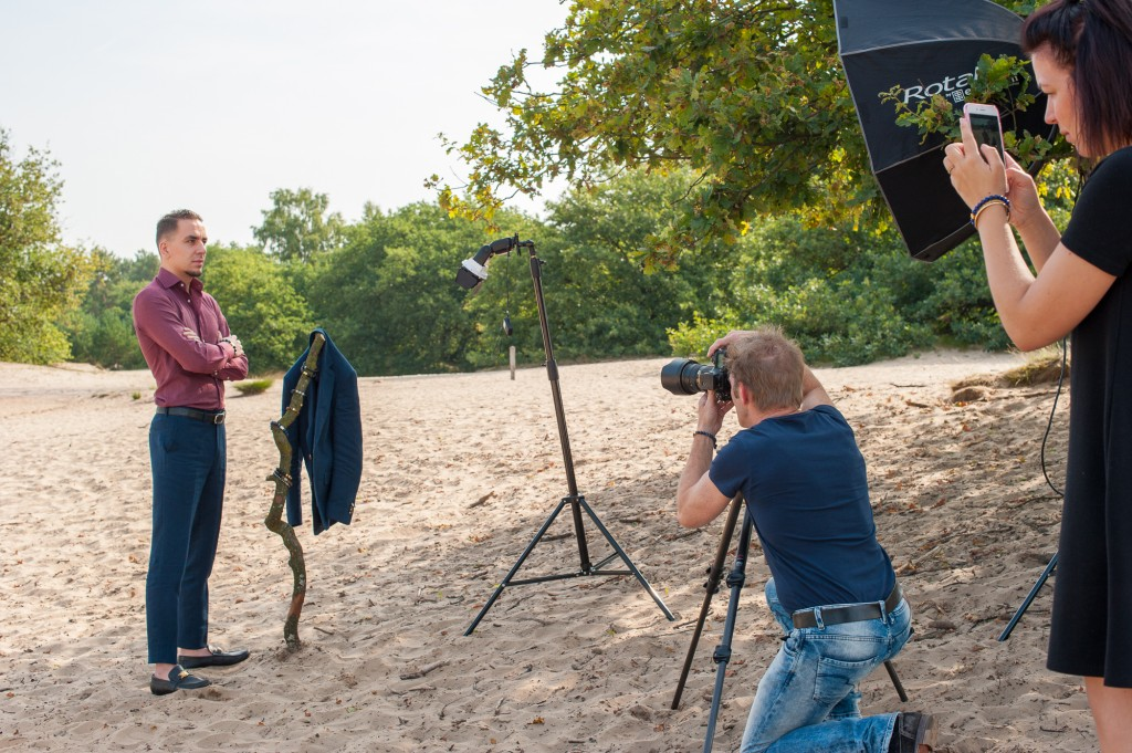 September 17, Cover and Cover Story Photo Shoot. The Making-Of-3