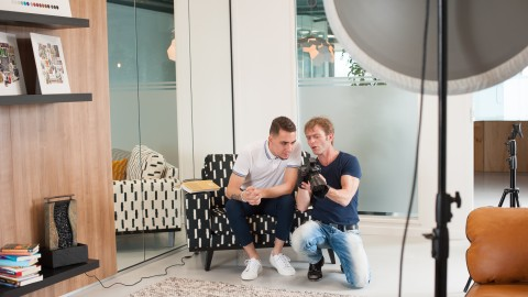 September 17, Cover and Cover Story Photo Shoot. The Making-Of