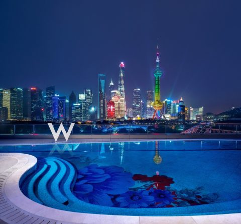 New Shanghai Skyline With The W Shanghai-The Bund