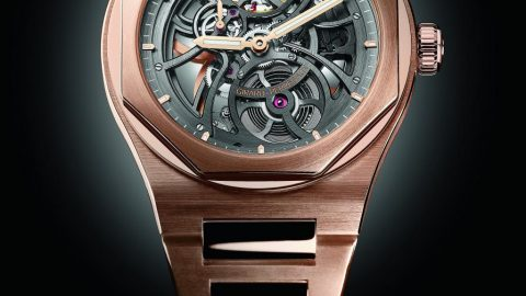 The Girard-Perregaux Laureato Skeleton