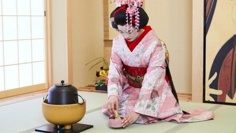 The World's First Geisha Cafe  Opens in Osaka, Japan