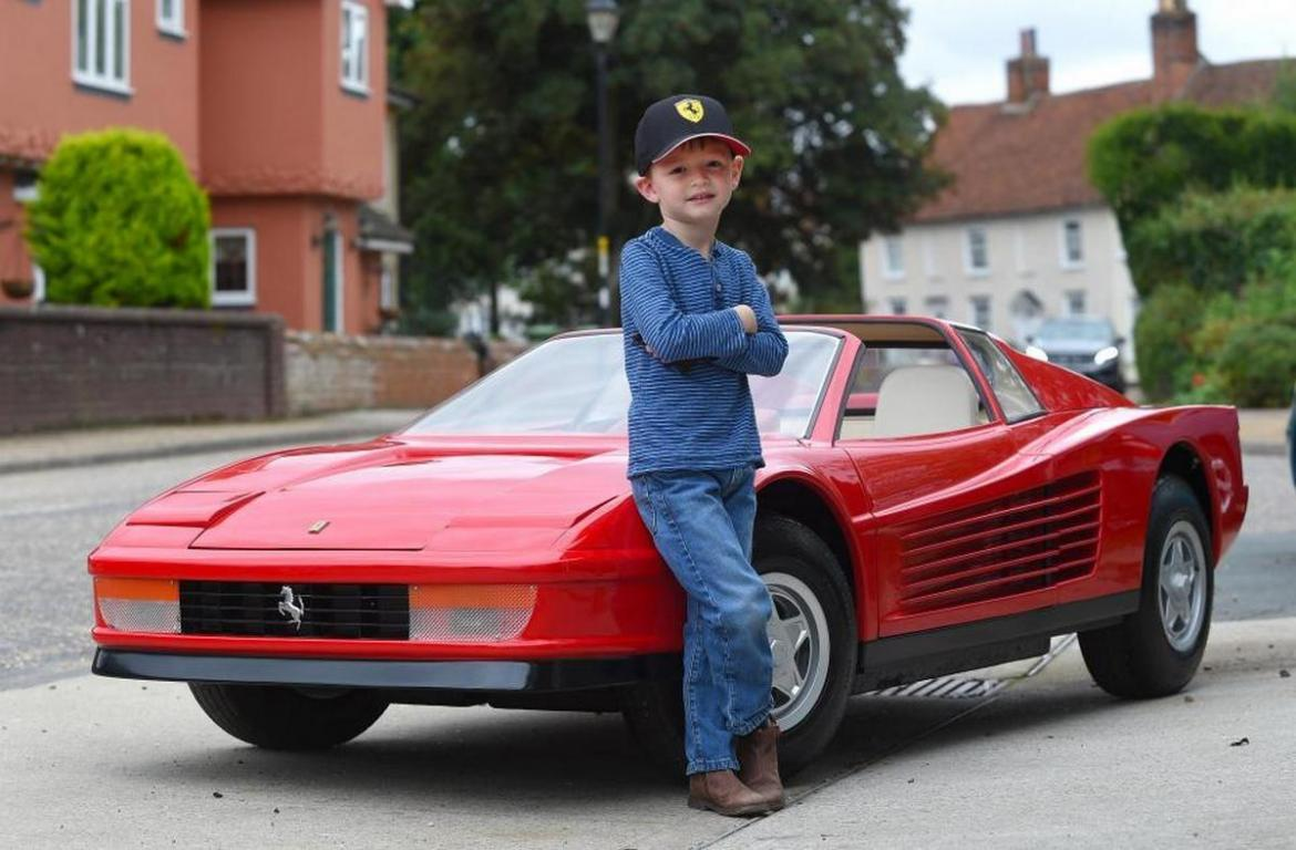 Most Expensive Kids Toy In The World Agostini Ferrari