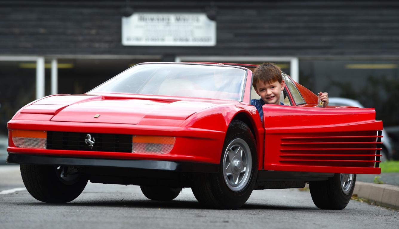 Most Expensive Kids Toy in the World Agostini Ferrari Testarossa ...