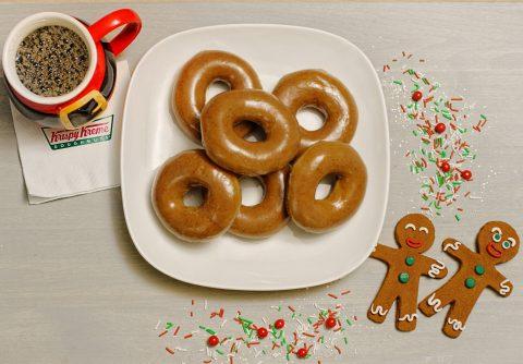 Krispy Kreme Doughnuts Introduces First-Ever Gingerbread Glazed Doughnut Dec. 12
