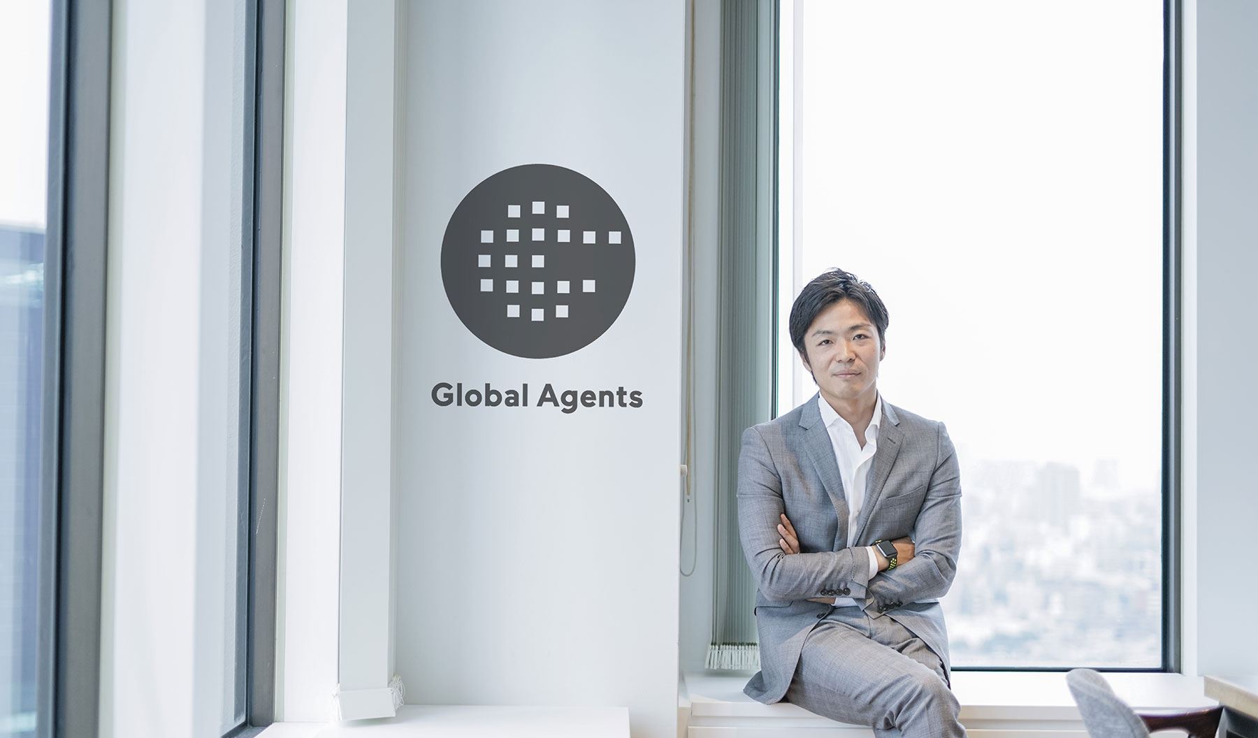 Takeshi Yamasaki. Founder and CEO of Global Agents Co
