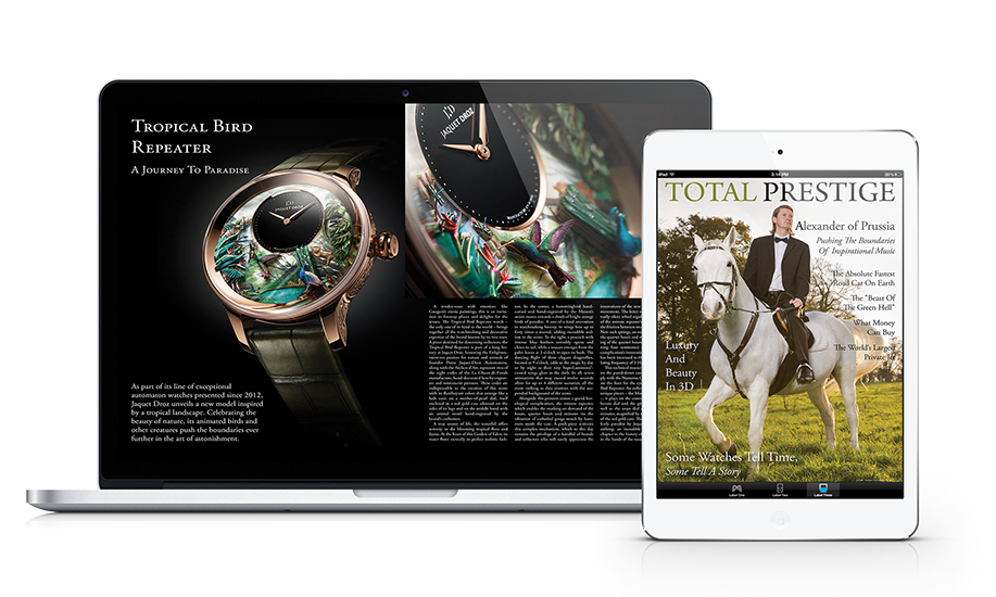 Totalprestige Magazine Digital Subscription