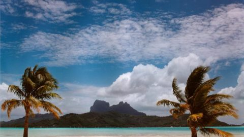 Private Tahitian Island of MotuTane. Bora Bora. $42,000,000