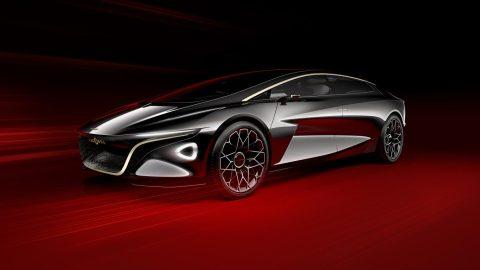 Lagonda Vision Concept By Aston Martin