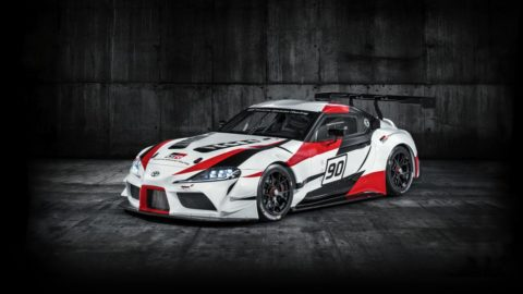 Toyota GR Supra Racing Concept. The Legends Returns