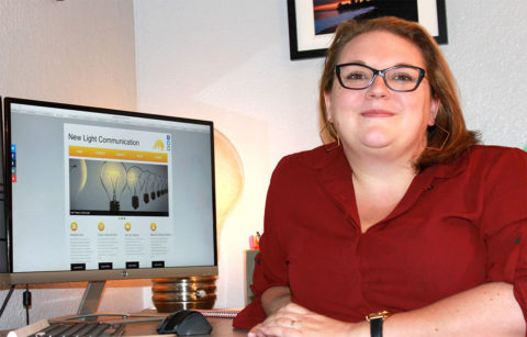 Rachel Czyzynski Owner of New Light Communication