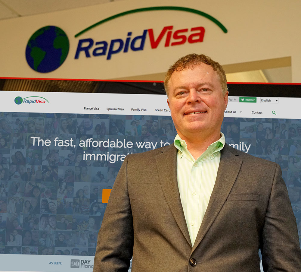 Ben Ives. Founder & CEO of RapidVisa