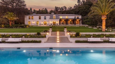 $45,000,000 Heather House Beverly Hills