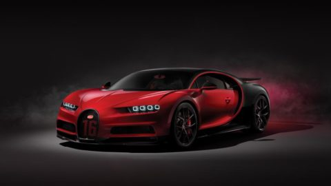 Can you handle the speed? Bugatti Chiron Sport