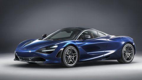 Rhapsody in Atlantic Blue. Bespoke McLaren 720S