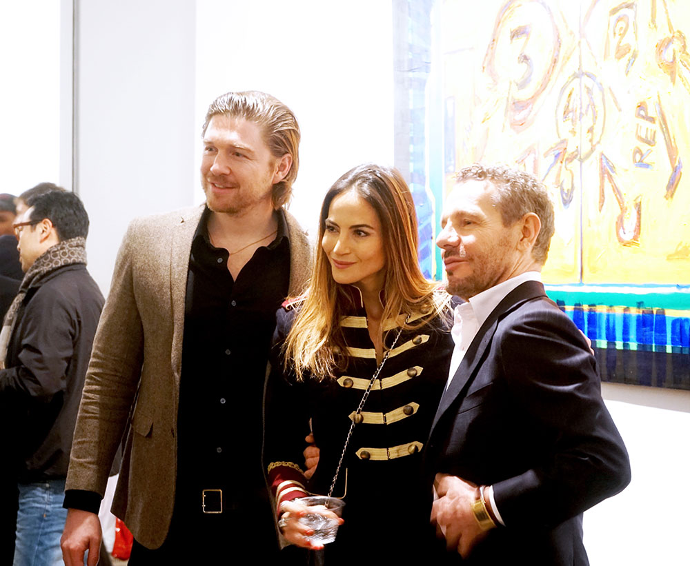 Philippe Hoerle-Guggenheim, Diane Stafrace, and Fabrizio Cerina
