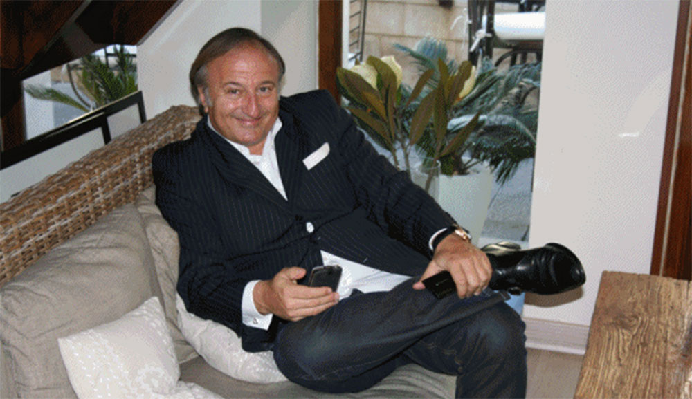Michel Forgues Lacroix. Owner of RELAIS GROUPE. Paris, FRANCE