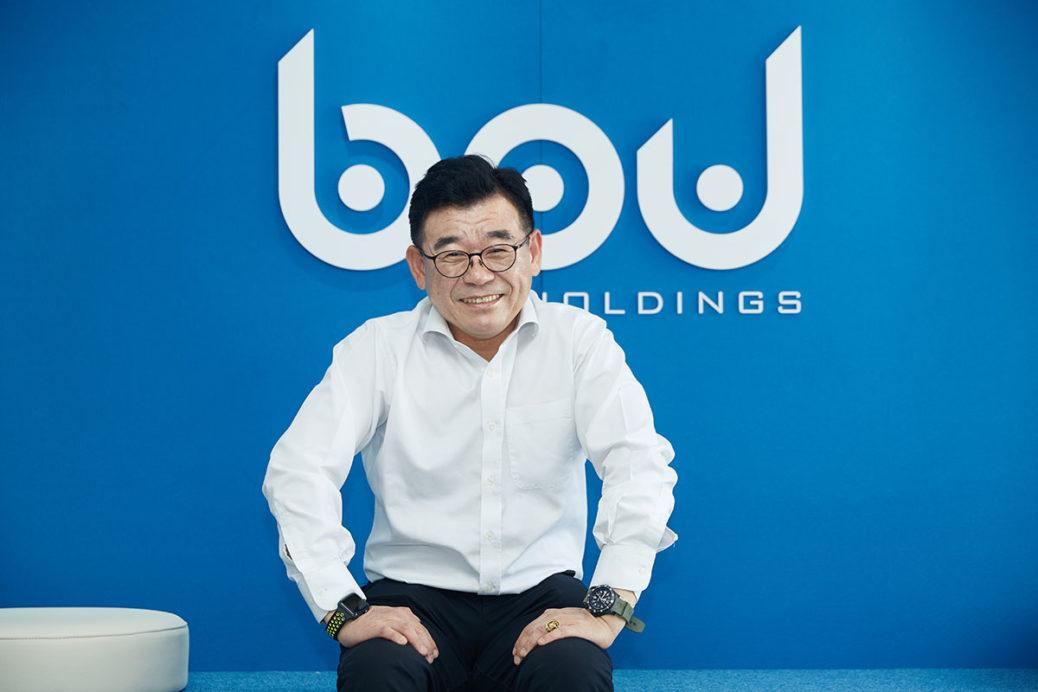 Oh SangGyoon. CEO of BPU Holdings