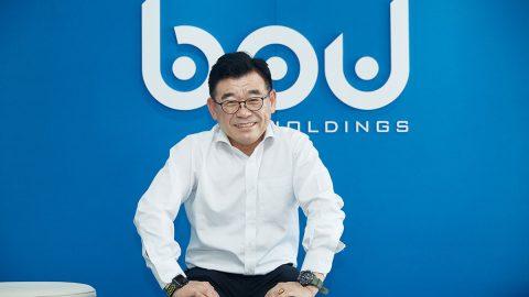 Oh SangGyoon. CEO of BPU Holdings. Seoul, SOUTH KOREA