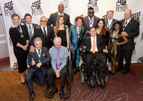 2017 Great Sports Legends Dinner Legends and Honorees
