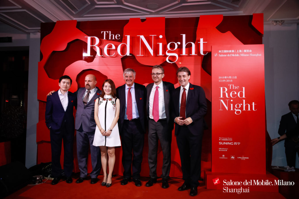 SUNING ATTENDS THE RED NIGHT TO EXPECT THE BEST SHOW YET