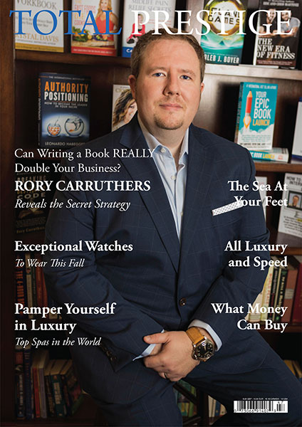 TOTALPRESTIGE MAGAZINE - On cover Rory Carruthers