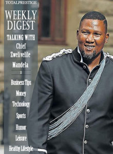 WEEKLY DIGEST - Chief Zwelivelile Mandela