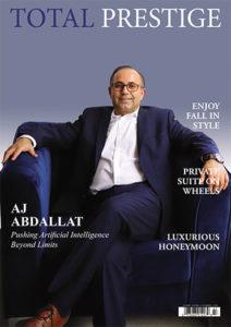 TOTALPRESTIGE MAGAZINE - On cover AJ Abdallat