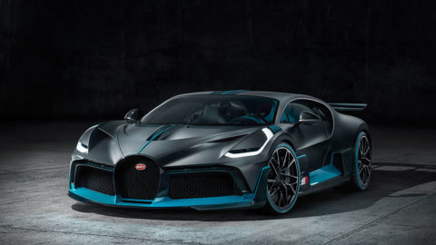 Bugatti DIVO. Made For Corners