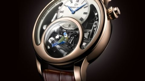 Charming Bird in Full Flight by Jaquet Droz