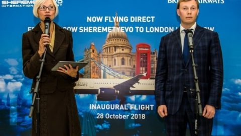 Sheremetyevo International Airport Launches Direct Flights from London to Moscow