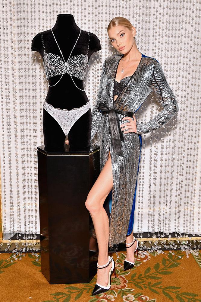 Victoria's Secret Angel Elsa Hosk With The Dream Angels Fantasy Bra Designed by Atelier Swarovski