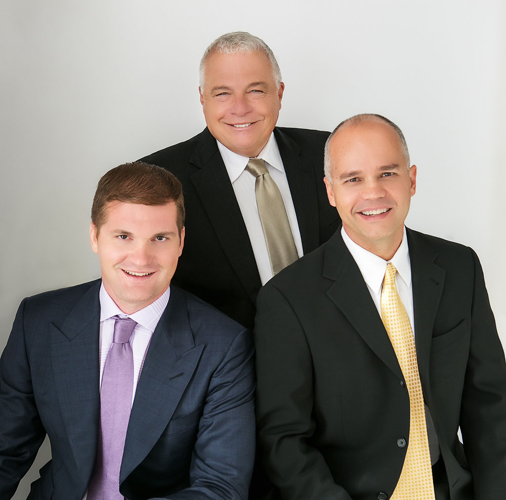 From left to right: Jason Fladlien, CSO of Rapid Crush, Inc., Doland White, CEO of Rapid Crush, Inc., Wilson Mattos, COO of Rapid Crush, Inc.